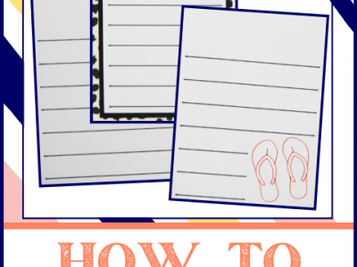 3 Journal Cards Created in Cricut Design Space